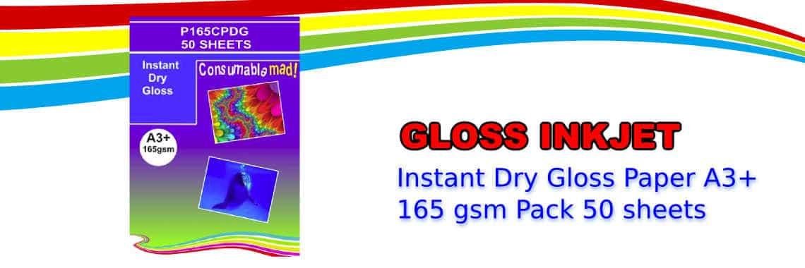 Photo Quality Gloss Inkjet Paper