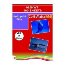 095HWTA3 HYDROPRINT 95MICRON 100 SHEETS A3