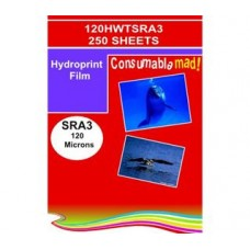 120HWTSRA3 Non-Adhesive Hydroprint Matt White