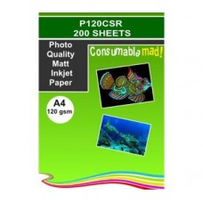 P120CSR Photo Quality Matt Inkjet Papers 5660dpi